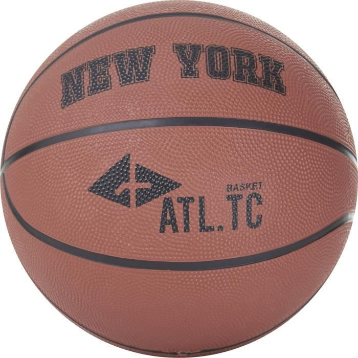 ATHLI-TECH Ballon de Basket New York - Or foncé