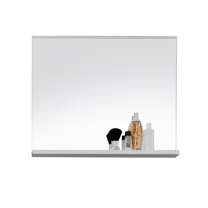 mezzo miroir de salle de bain 60 cm blanc achat. Black Bedroom Furniture Sets. Home Design Ideas