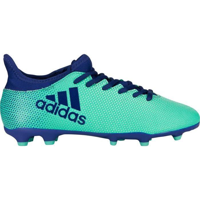 ADIDAS Chaussures de football X 17.3 FG - Enfant - Vert