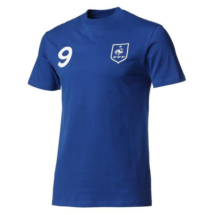 WEEPLAY T-Shirt Giroud N°9 - Adulte - Bleu
