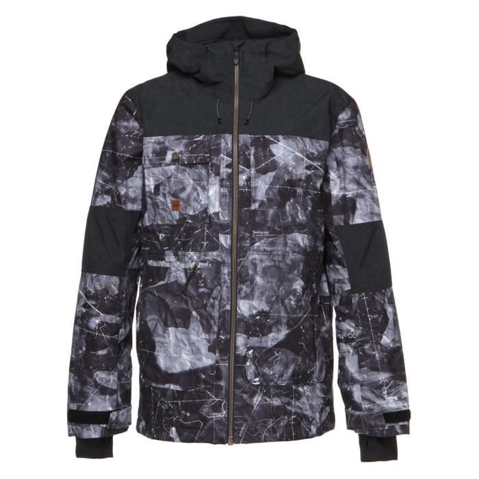 QUIKSILVER Veste Arrow Wood - Homme - Gris