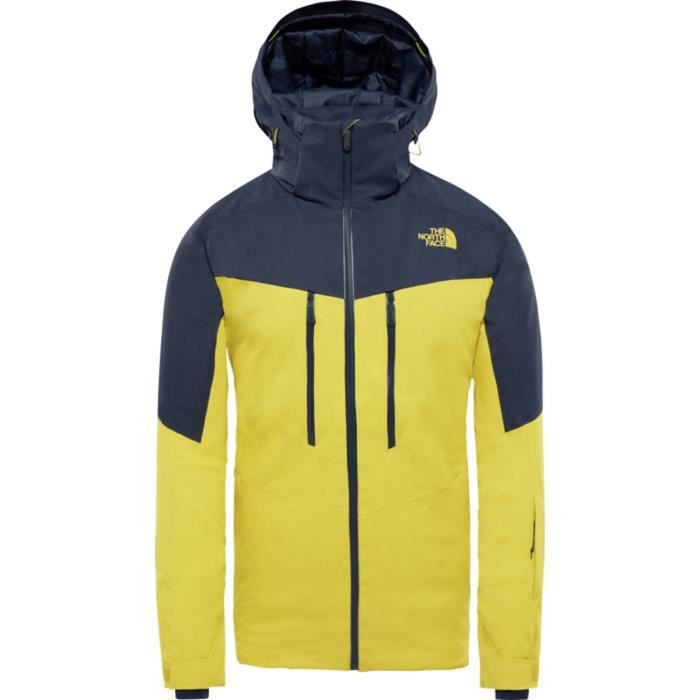 THE NORTH FACE Veste de ski Chakal - Homme - Jaune