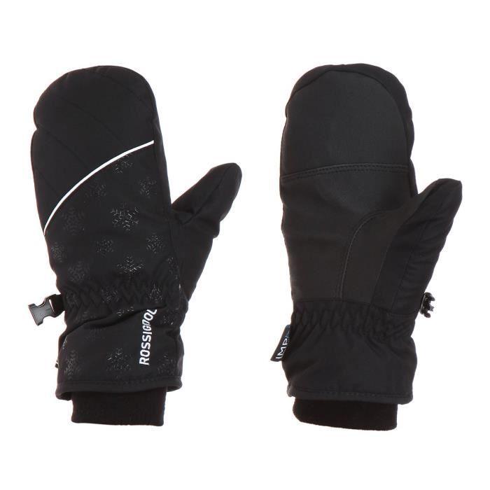 ROSSIGNOL Gants de ski Nicky - Enfant - Noir