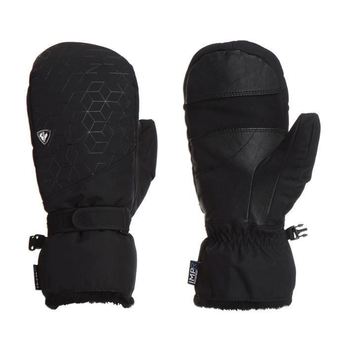 ROSSIGNOL Gants de ski Unique - Femme - Noir