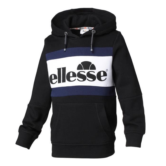 ELLESSE Sweatshirt à capuche Gabin Enfant Noir Achat