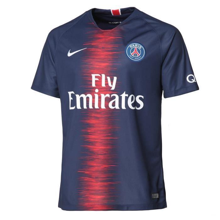 NIKE Maillot PSG Domicile 18 Neymar - Homme - Bleu