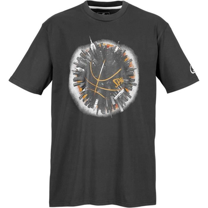 SPALDING T-Shirt Basket-Ball Planet Homme