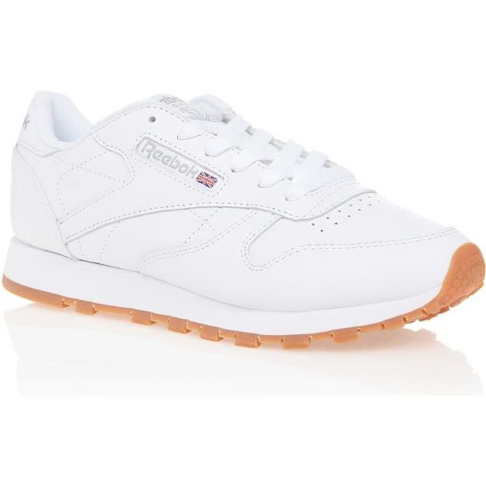 REEBOK Baskets Classic Leather Blanc Femme