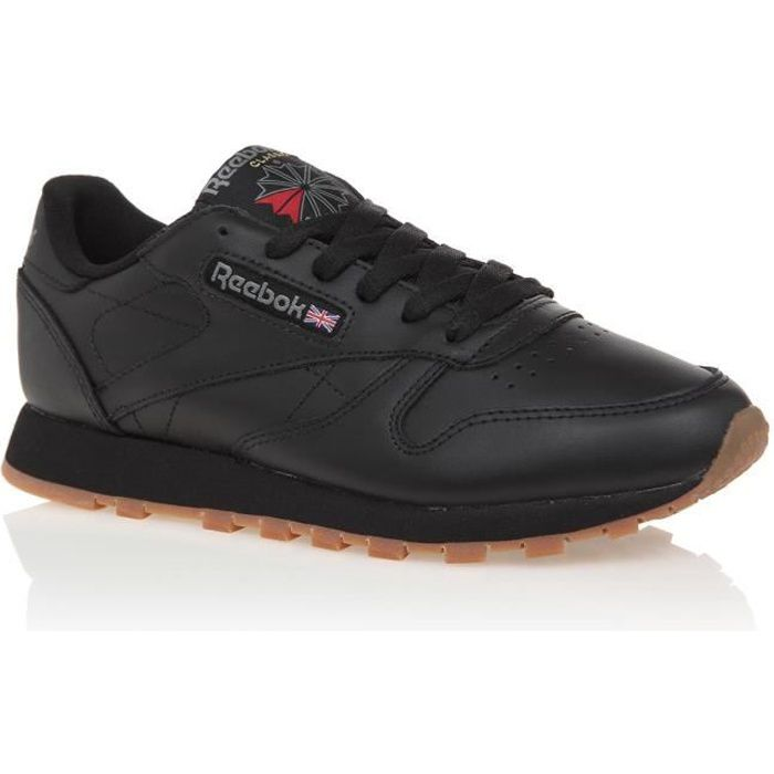 REEBOK Baskets Classic Leather Noir Femme