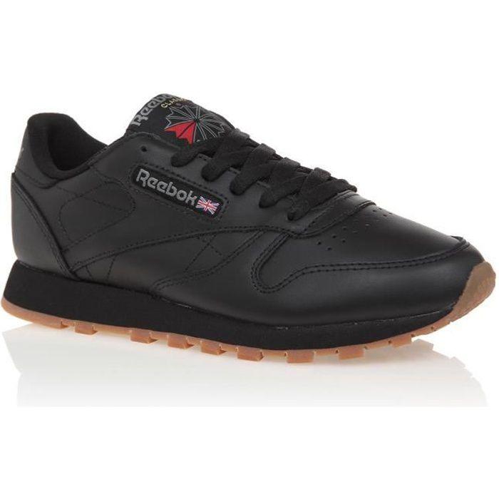 point lacets 37 basket noires chaussures femme cdiscount reebok F1lcKJ