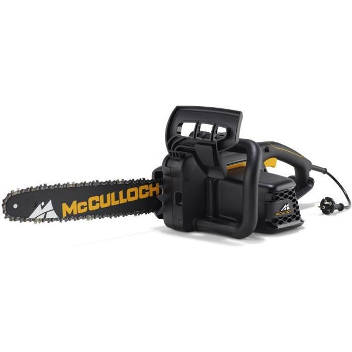MCCULLOCH Tronçonneuse électrique - 2000 W - Guide 40 cm - Réservoir de 0,24 L