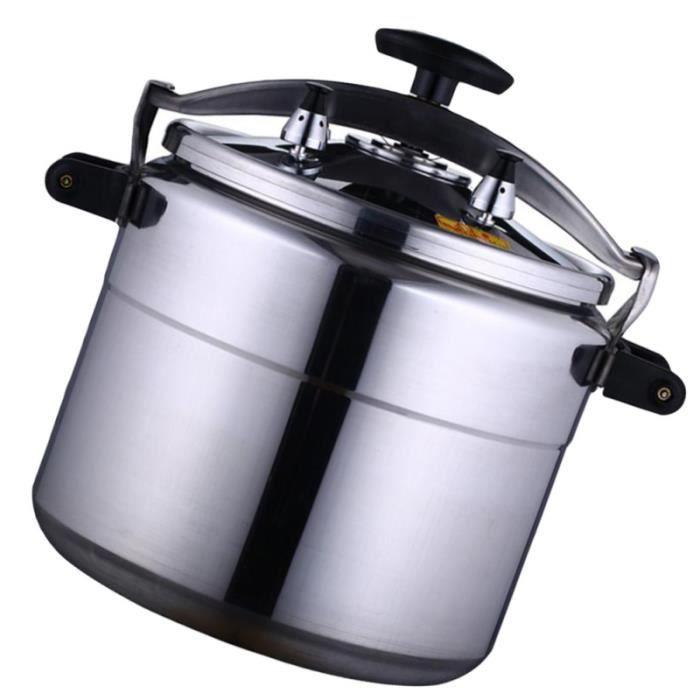 1 pot à pression ménager polyvalent efficace pour la cuisine (argent, 9L) AUTOCUISEUR - COCOTTE MINUTE