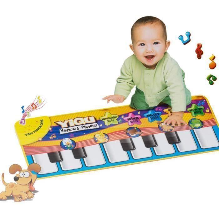 Piano bébé animal jouet éducatif Musique tapis