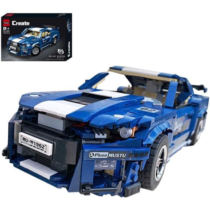 Technic Voiture de Sport GT5001623 Pièces Voiture de Course Jeu de ConstructionBlocs de Construction Compatible avec Lego