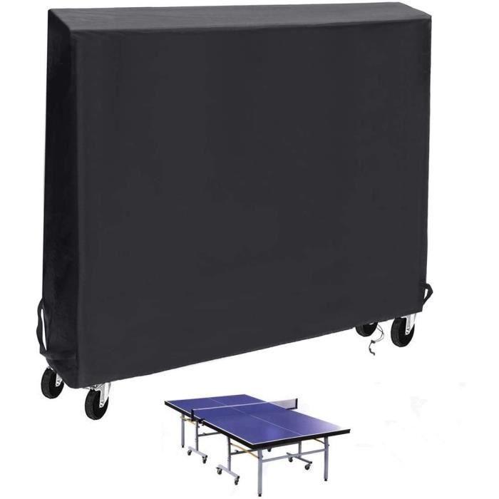 TABLE DE TENNIS DE TABLE Landrip Housse de Table de Tennis de Table Housse de Table de ping-Pong int&eacuterieure-ext&eacuterieu8