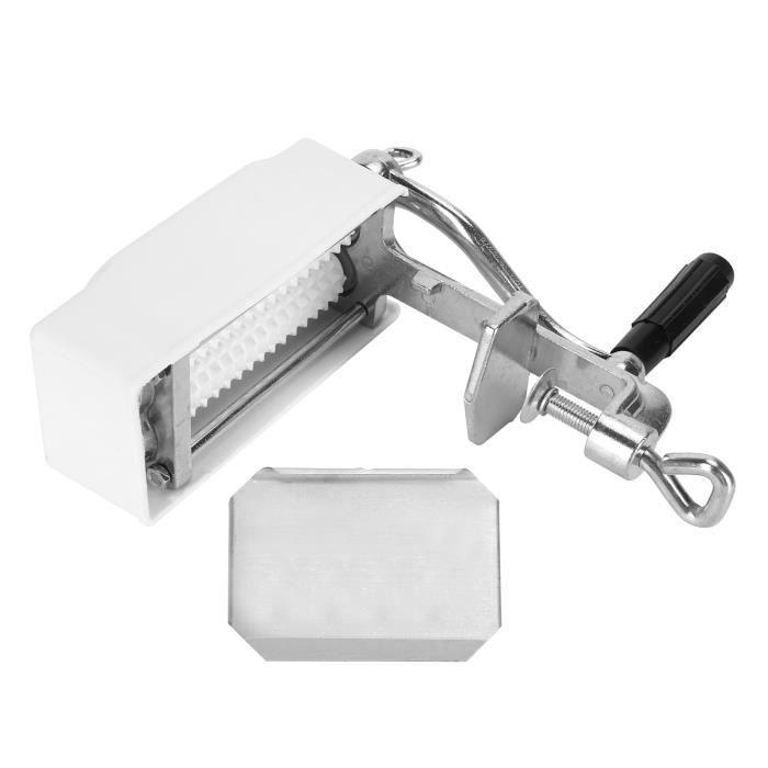 Coupe-viande, démontage facile Machine à viande tendre Design à pince Attendrisseur de viande en aluminium pour cuisine à