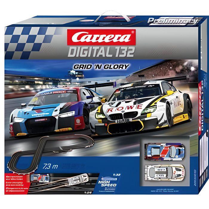 Circuit voiture 8 - 14 ans Carrera DIGITAL 132 30010 Coffret Grid 'n Glory