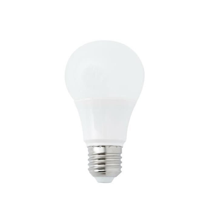 Faro - Ampoule LED E27 8W/60W 5000K 638lm Standard Rose
