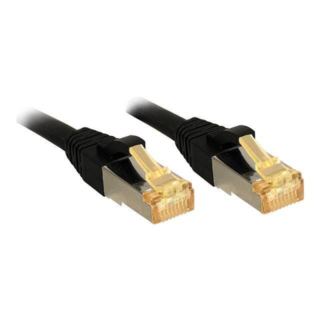 Lindy Câble réseau Cat 7 Lsoh Cuivre 6000Mhz 3m Noir