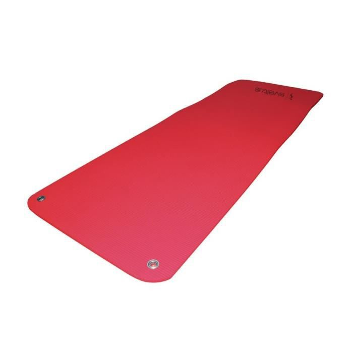 SVELTUS - Tapis mousse HD 180 rouge