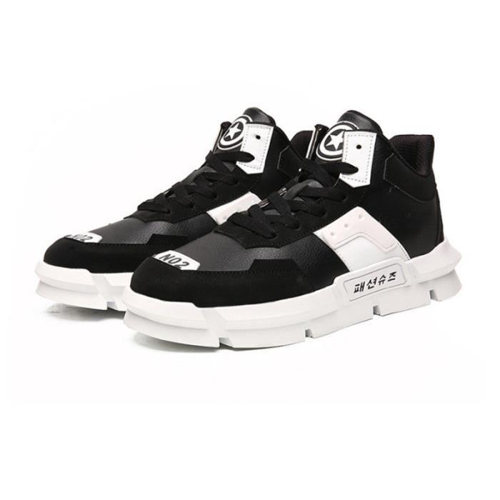 Baskets Homme - Nouvelle arrivee Poids Léger Mode sneaker - noir MIDENG™