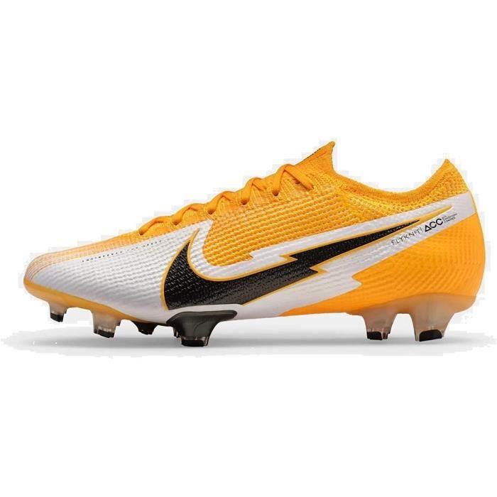 Nike Vapor 13 Pro Fg, Football Chaussure Unisexe-Adulte, Laser Orange/Black-White-Laser Orange, 45 Eu