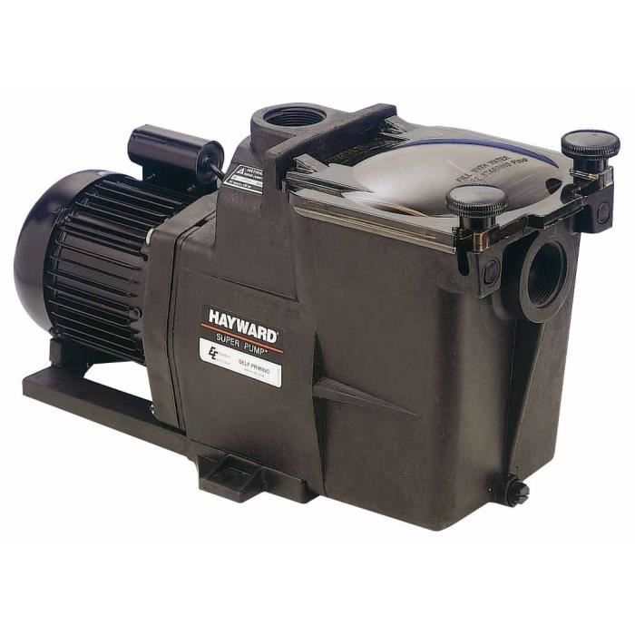 HAYWARD SUPER PUMP Pompe mono 1 cv, 2\