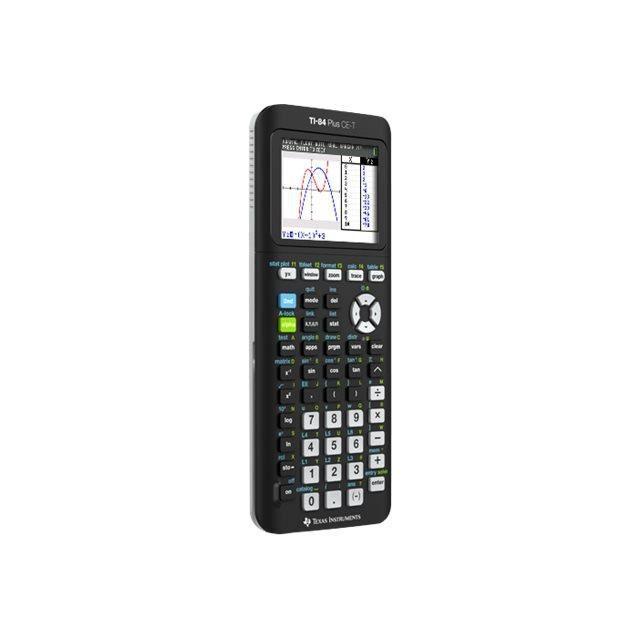 Texas Instruments TI-84 Plus CE-T Calculatrice graphique USB 10 chiffres + 2 exposants pile