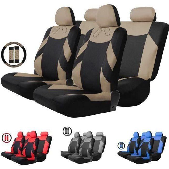 WS27130-Housse de Siège Auto Universelle coussins pour Siège Voiture,Protecteur de siège,Couvre Siège voiture,Siège de housse de