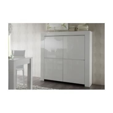 vaisselier laqu blanc verulo blanc achat vente vitrine argentier vaisselier laqu. Black Bedroom Furniture Sets. Home Design Ideas
