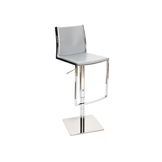 tabouret de bar moderne gris hoedic achat vente tabouret cdiscount. Black Bedroom Furniture Sets. Home Design Ideas
