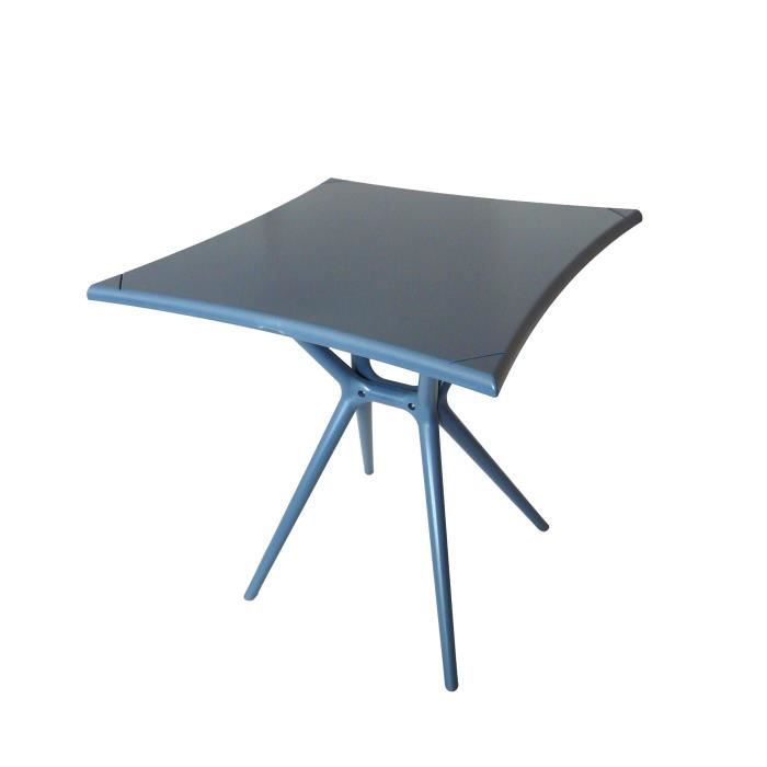 Table design palma grise achat vente table de jardin - Table design grise ...