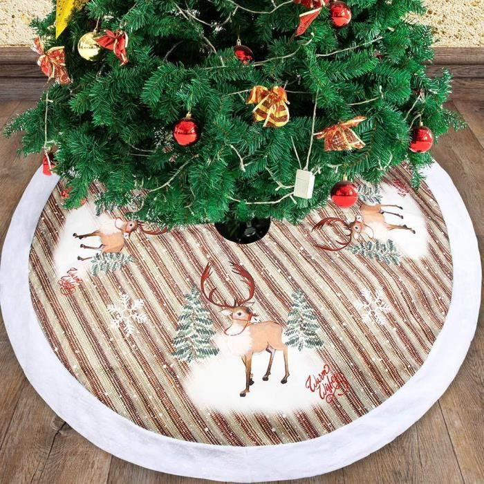 Tapis Pour Sapin De Noel 98cm Tapis pour sapin de noel arbre de noel, jupe de sapin de noel