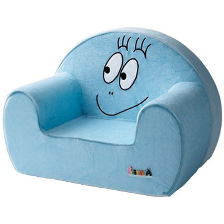 barbapapa fauteuil club bleu bleu achat vente fauteuil canap b b 3148801000441 cdiscount. Black Bedroom Furniture Sets. Home Design Ideas