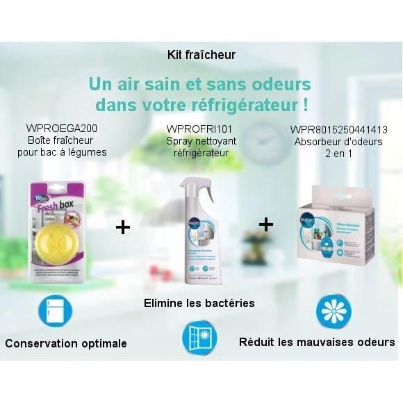 PIÈCE APPAREIL FROID  Pack Kit Fraîcheur - Spray nettoyant 500ml + Boîte