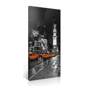 Tableau deco moderne toile new york times square achat vente tableau de - Tableau toile new york ...
