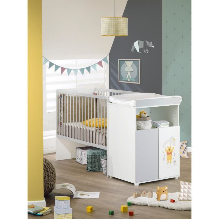 lit b b winnie l 39 ourson achat vente lit b b winnie l 39 ourson pas cher cdiscount. Black Bedroom Furniture Sets. Home Design Ideas