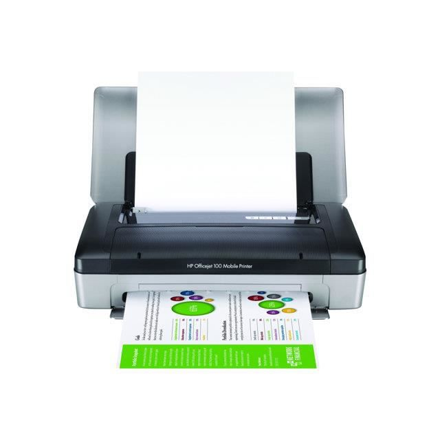 Hp Officejet 100 Mobile Printer Imprimante Co Achat