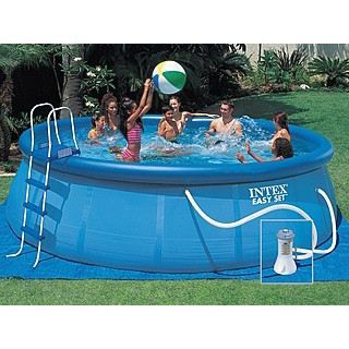 Kit piscine intex easy set ronde x achat for Piscine intex hors sol ronde