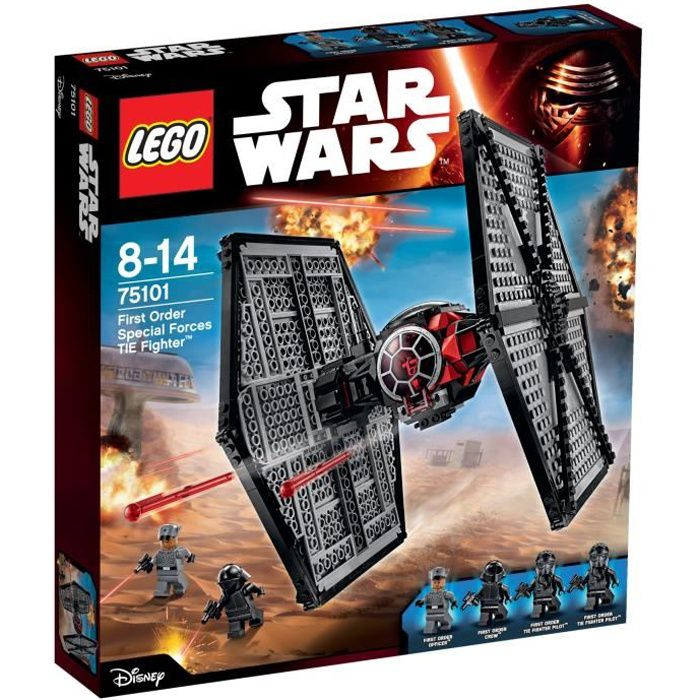 LEGO ® Star Wars ™ 75101 First Order forces spéciales TIE FIGHTER /& 0 € livraison NEUF