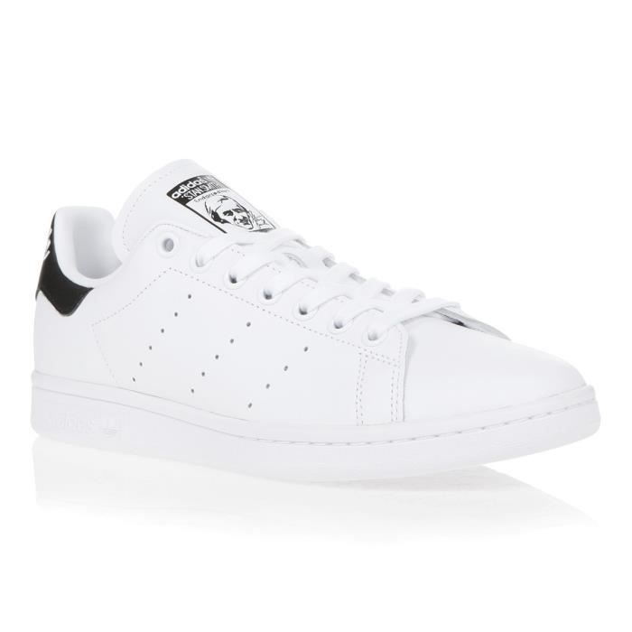 ADIDAS ORIGINALS Baskets Stan Smith - Homme - Blanc et noir