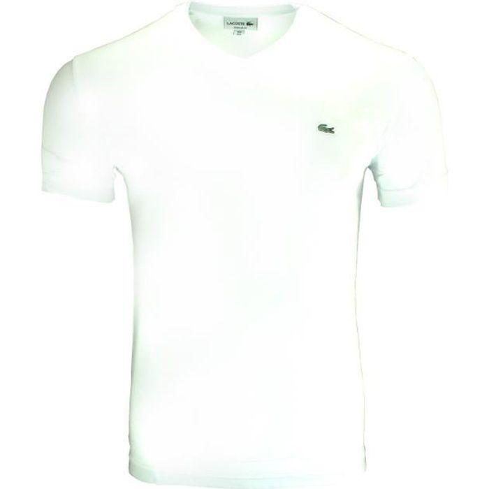 neuf dans sa boîte Pierre Cardin Stretch logo T-shirt homme-Blanc-Taille XXXL-Neuf