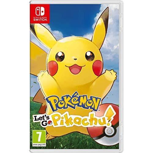 JEU NINTENDO SWITCH Pokemon Let's Go  + 3 Cartes Pokémon
