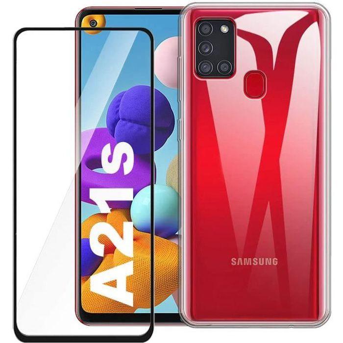 1 Pack Noir verre trempé Coque Samsung Galaxy A2