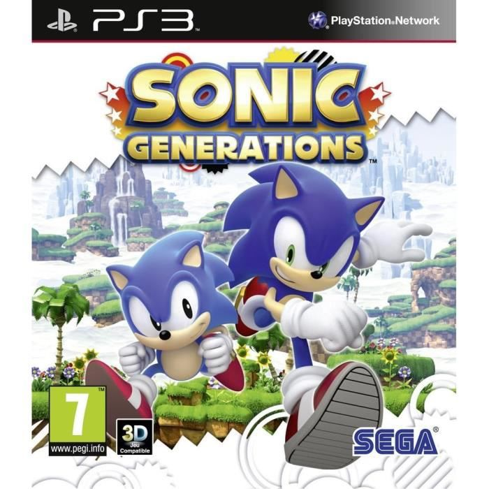 JEU PS3 Sonic Generations (Playstation 3) [UK IMPORT]