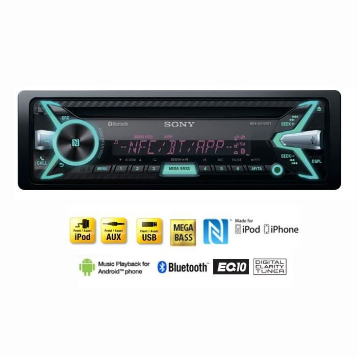 poste radio voiture bluetooth usb. Black Bedroom Furniture Sets. Home Design Ideas