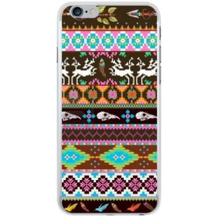 Coque Iphone 6 (4,7 ') - Motifs Aztèques tête de mort - 575 ...