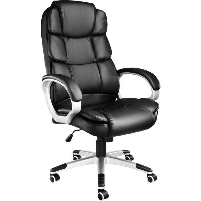 CHAISE DE BUREAU TECTAKE Fauteuil de Bureau design pivotant ergonom