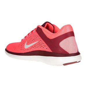 new styles 510e8 2a471 ... CHAUSSURES DE RUNNING NIKE Baskets de Running Flex Rn - Femme - Rose ...