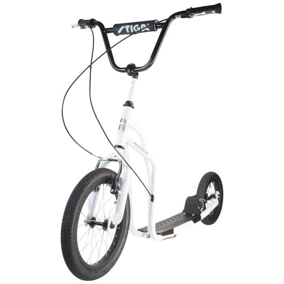 check out 030ce 4c748 STIGA Trottinette Air scooter 16   - Blanc